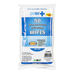 PR ProTect Hand and Surface Wipes, 50