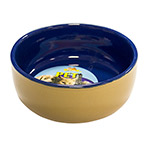 Ceramic Bowl 4.5in,115mm Round LB-496