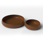 PR Mealworm Dish Earth Brown 75mm, WPM001