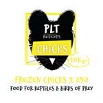PLT Frozen Chicks 10kg approx 250