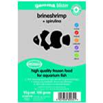 Gamma Blister Brineshrimp+Spirulina 95g