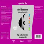 Gamma SLICE Mini Bloodworm, 250g