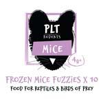 PLT Frozen Mice Fuzzies 4g+ 10 Pack