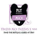 PLT Frozen Mice Fuzzies 4g+ 100 Pack