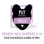 PLT Frozen Mice Hoppers  6g+ 10 Pack