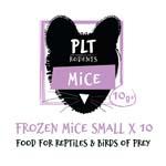 PLT Frozen Mice Small 10g+ 10 Pack