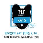 PLT Frozen Rat Pups 4g+ 10 Pack